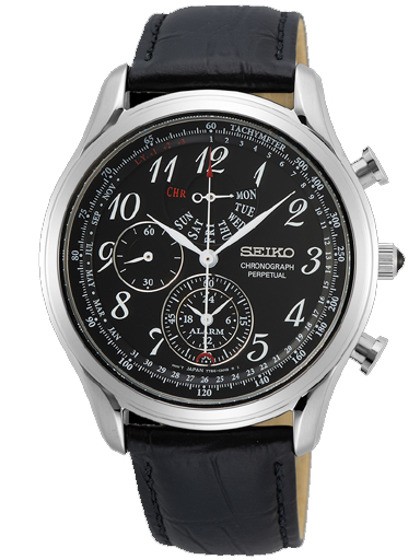 Seiko Dress Alarm Quartz Men's Watch SPC255P1-SPC255P1