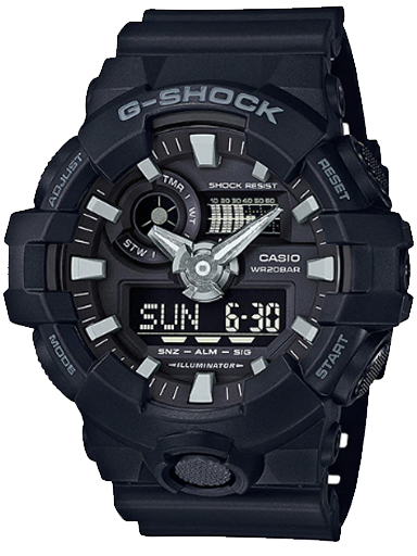 G715 GA-700-1BDR G-SHOCK WATCH-G715
