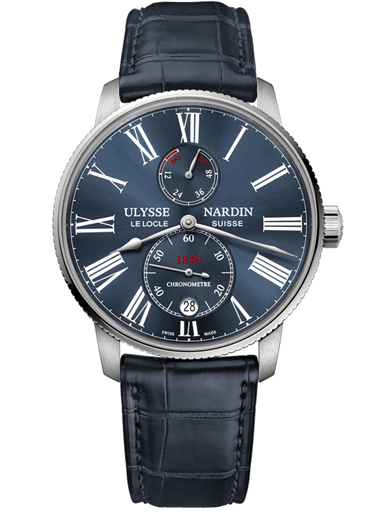 Ulysse Nardin Marine Chronometer Torpilleur Automatic Men's Watch 1183-310/43-1183-310/43