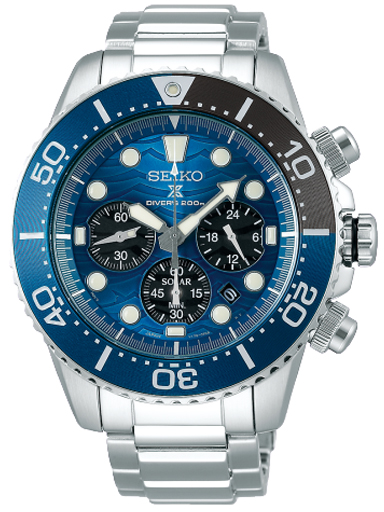 Seiko Blue Dial Diver's Men's Watch SSC741P1-SSC741P1
