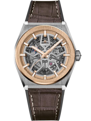Zenith DEFY Classic Automatic 18kt Rose Gold Men's Watch-87.9001.670/79.R589