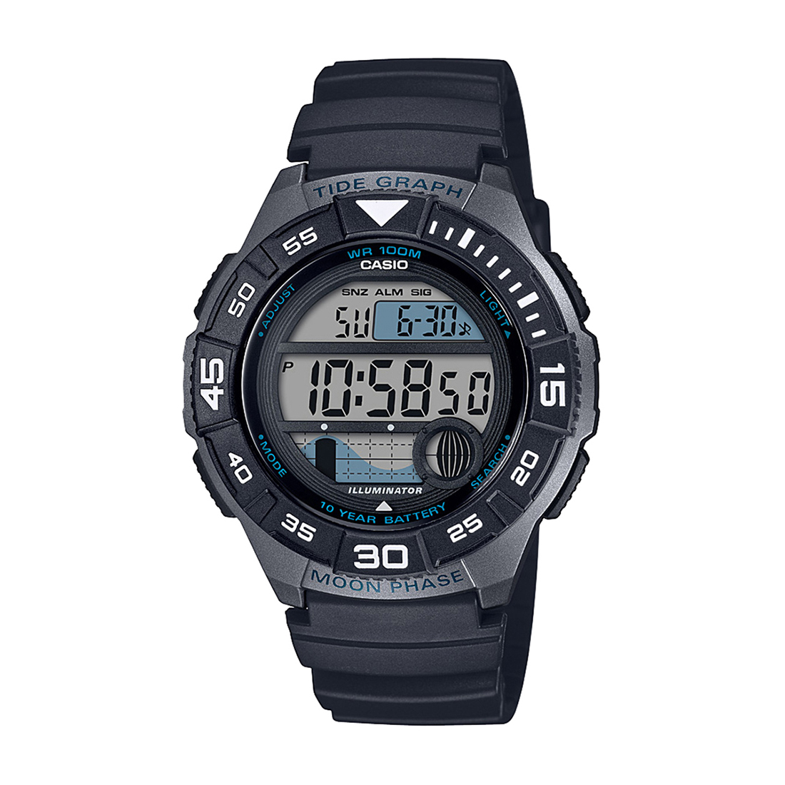 A1723 WS-1100H-1AVDF YOUTH DIGITAL WATCH-A1723