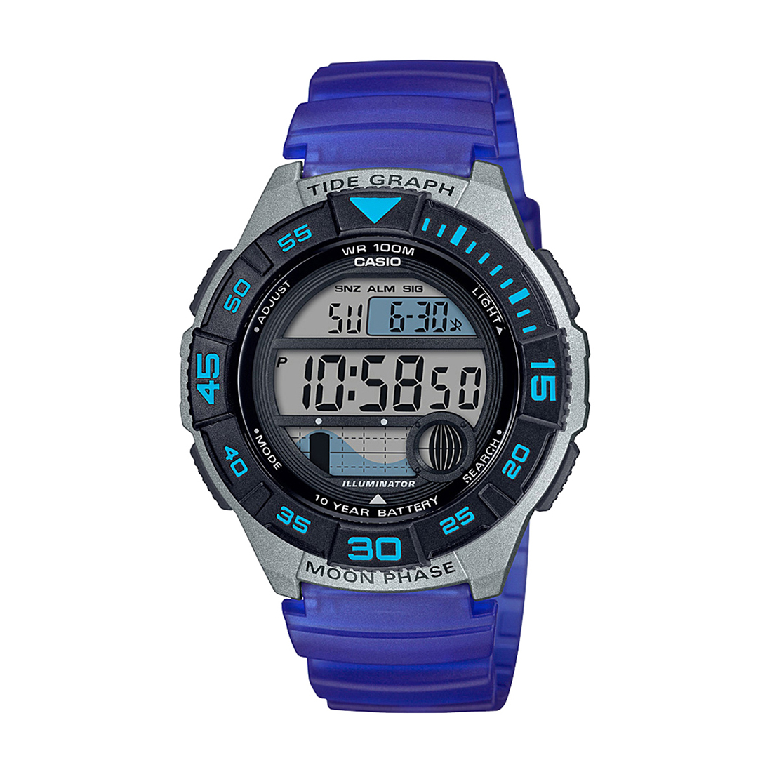 A1724 WS-1100H-2AVDF YOUTH DIGITAL WATCH-A1724