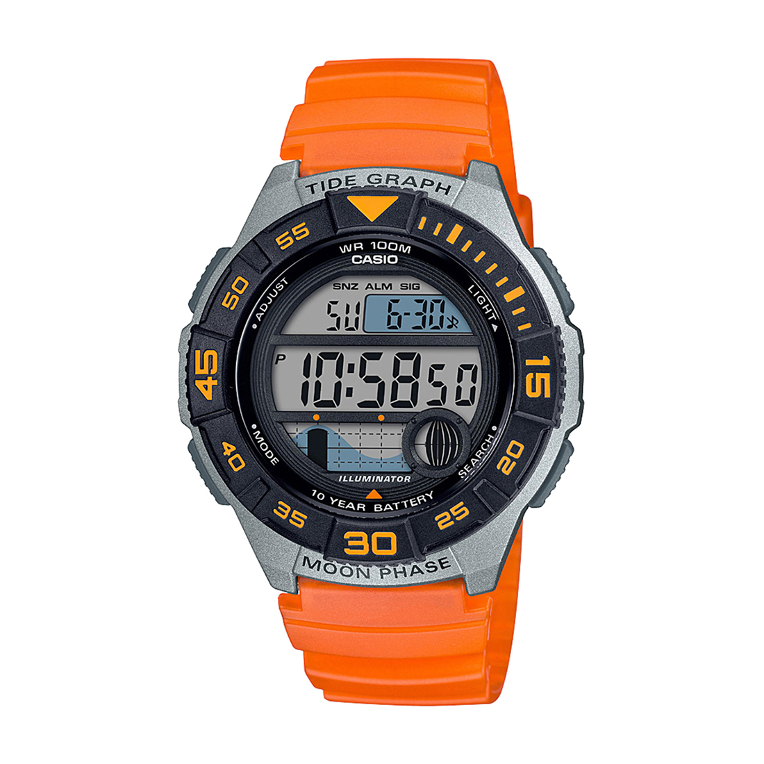 A1725 WS-1100H-4AVDF YOUTH DIGITAL WATCH-A1725