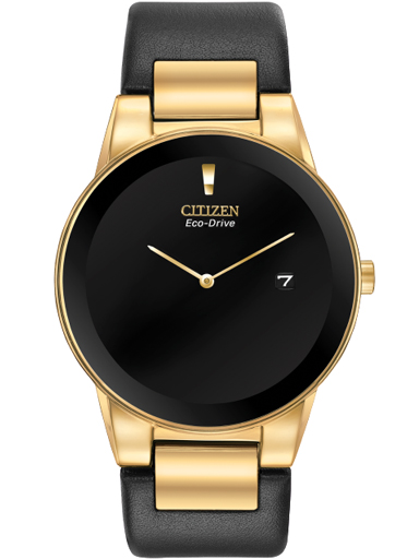 Citizen Axiom Eco-Drive Black Dial Men's Watch AU1062-05E-AU1062-05E