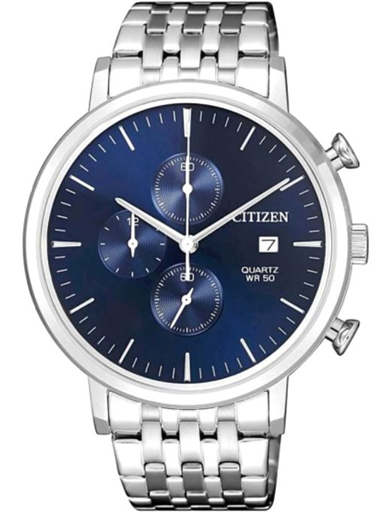 Citizen Dress Chronograph Blue Dial Men's Watch AN3610-55L-AN3610-55L