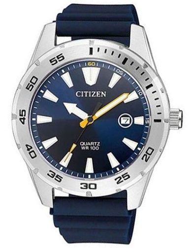 Citizen Blue Dial Quartz Men's Watch BI1041-22L-BI1041-22L