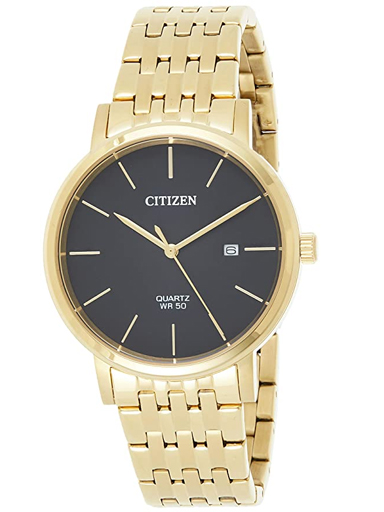 Citizen Classic Black Dial Quartz Men's Watch BI5072-51E-BI5072-51E