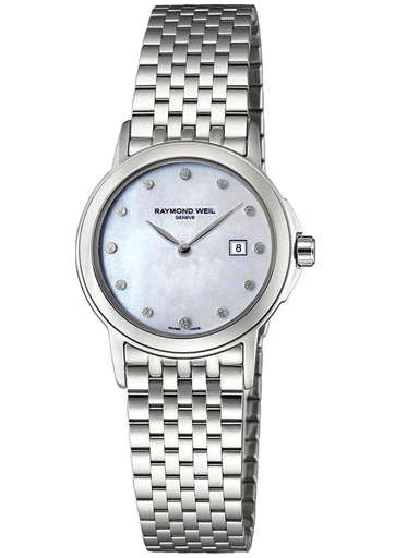 Raymond Weil Tradition MOP Dial Ladies Watch-5966-ST-97001