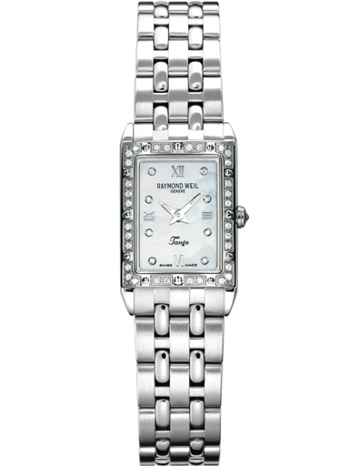 Raymond Weil Tango Mother of Pearl Dial Diamond Ladies Watch-5971-STS-00995