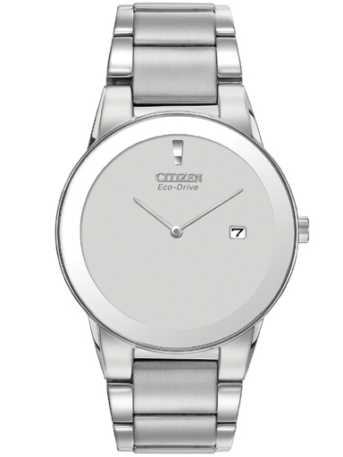 Citizen Eco-Drive White Dial AU1060-51A Watch For Men-AU1060-51A