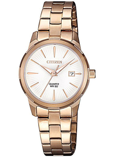 Citizen Quartz White Dial Women's Watch EU6073-53A-EU6073-53A