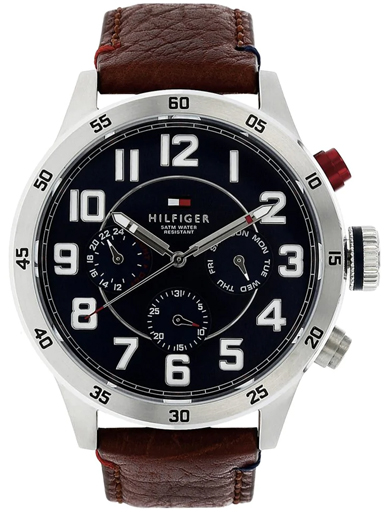 tommy hilfiger multi-function blue dial men's watch nbth1791066-NBTH1791066