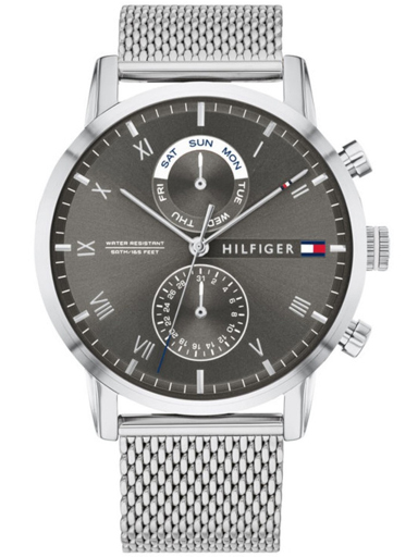 Tommy Hilfiger Multi-Function Grey Dial Men's Watch TH1710402-TH1710402