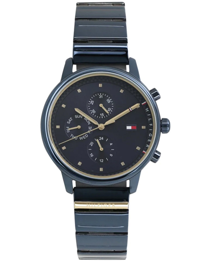 tommy hilfiger multi-function blue dial women's watch nbth1781893-NBTH1781893