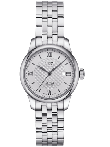 Tissot Le Locle Automatic Stainless Steel Silver Dial Watch For Women's-T006.207.11.038.00