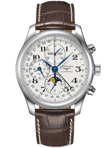 Longines Master Collection Brown Leather Men's Watch-L2.773.4.78.5