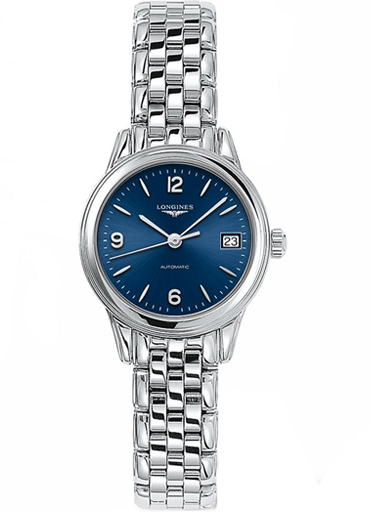 Longines Flagship Automatic Blue Dial Ladies Watch-L4.274.4.96.6