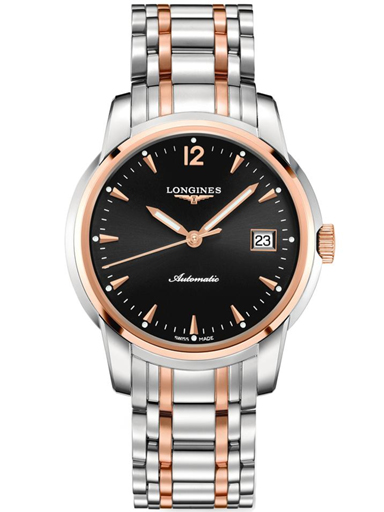 Longines Saint Imier Rose Gold Analog Men's Watch-L2.766.5.52.7