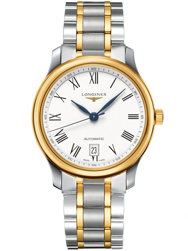 Longines Master Collection 18 K Gold With Stainless Steel Men's Watch-L2.628.5.11.7