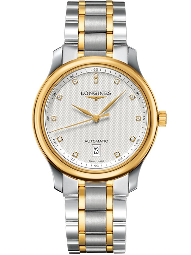 longines master collection two tone men's watch-L2.628.5.77.7