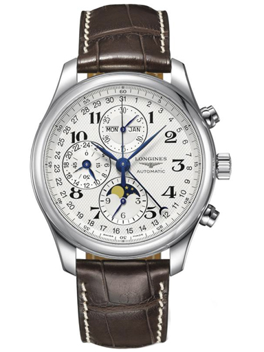 Longines Master Collection Moonphase Automatic Chronograph 42 mm Men's Watch-L2.773.4.78.3