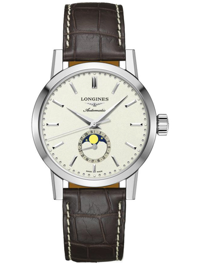 Longines Heritage Classic Moonphase Automatic Mens Watch-L4.826.4.92.2