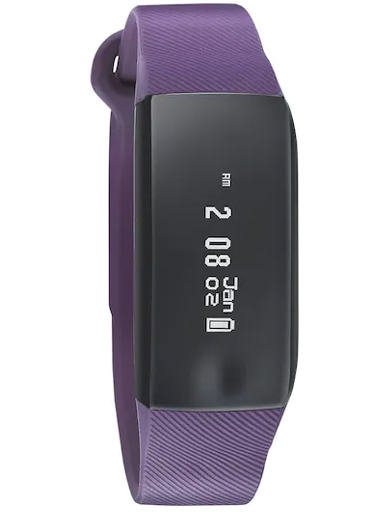 Fastrack Reflex Beat Purple Smart Band With Active Heart Rate Monitor-SWD90066PP02