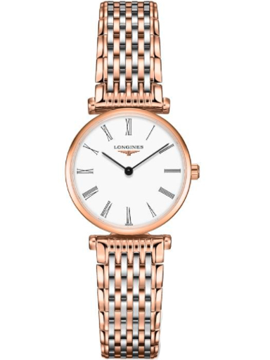 Longines La Grande Classique White Dial Two-tone Ladies Watch-L4.209.1.91.7