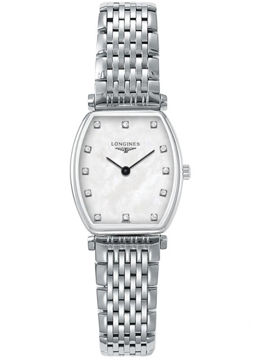 longines la grande classique de tonneau - small ladies watch l42054876-L4.205.4.87.6