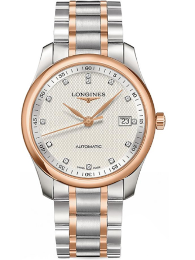 Longines Elegant Mens Rose Gold  Watch-L2.793.5.77.7