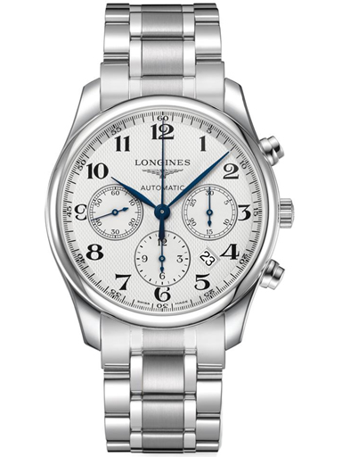 longines master collection automatic chronograph men's watch-L2.759.4.78.6