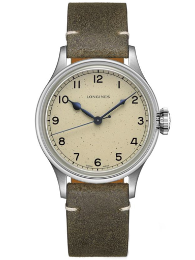 longines heritage military automatic mens watch-L2.819.4.93.2