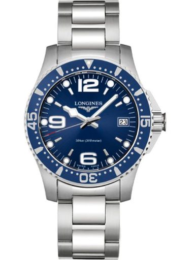 longines hydro conquest blue dial ladies watch-L3.340.4.96.6