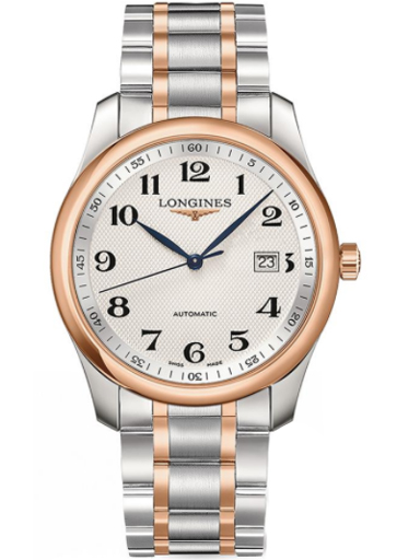 longines master collection silver dial automatic mens watch-L2.793.5.79.7