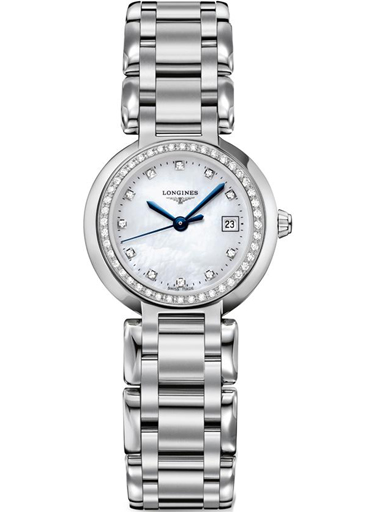longines primaluna quartz 26.5 mm ladies watch l81100876-L8.110.0.87.6