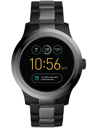 fossil gen 2 smartwatch founder two-tone stainless steel ftw2117-FTW2117