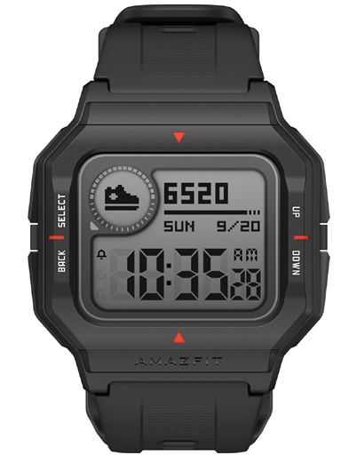 Amazfit Neo with Retro Look-Amazfit Neo Black