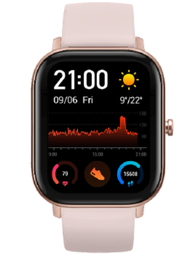 Amazfit GTS Rose Pink Watch-Amazfit GTS Rose Pink