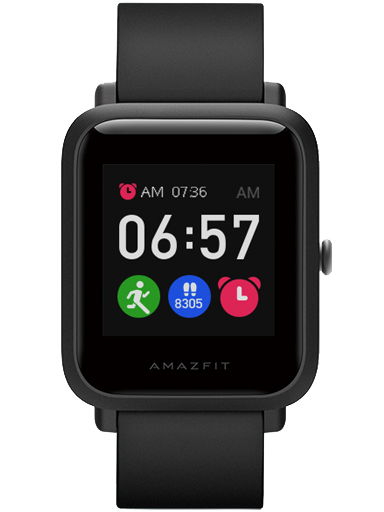 Amazfit Bip S Lite Charcoal Black Watch-Amazfit Bip S Lite Charcoal Black