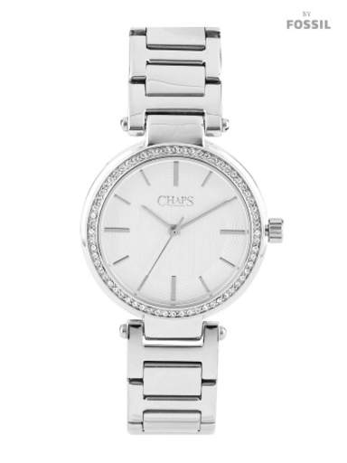 CHAPS Alanis Women Silver-Toned Dial Watch-CHP3009