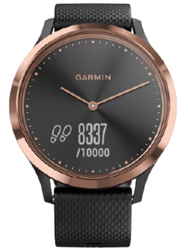 VIVO -VIVOMOVE HR SPORT BLACKROSE GOLD-Vivomove HR Sport Black/Rose Gold
