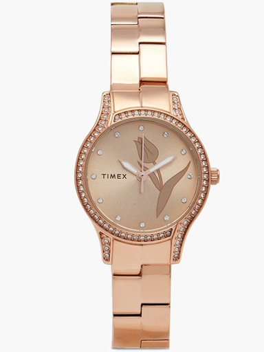 Timex Empera Rose Gold Dial Women Watch TW0TL9503-TW0TL9503