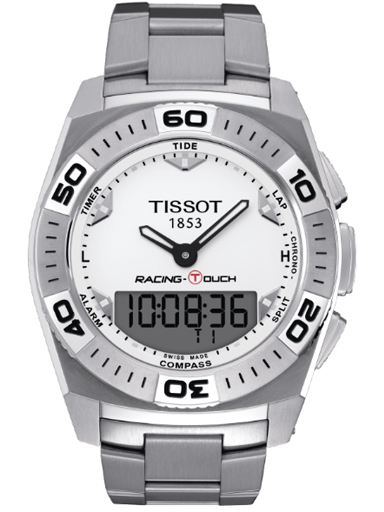 Tissot Racing T-Touch White Dial Men's Watch-T002.520.11.031.00