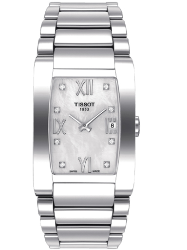 Tissot T-Trend Generosi-T Quartz Stainless Steel Women's Watch-T007.309.11.116.00