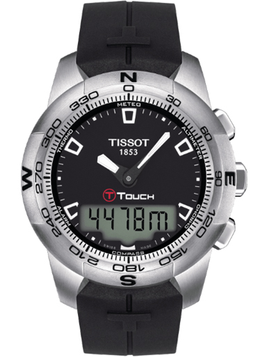Tissot T-Touch ll Stainless Steel Men's Watch-T047.420.17.051.00