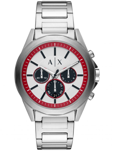 armani exchange chronograph stainless steel men watch-AX2646