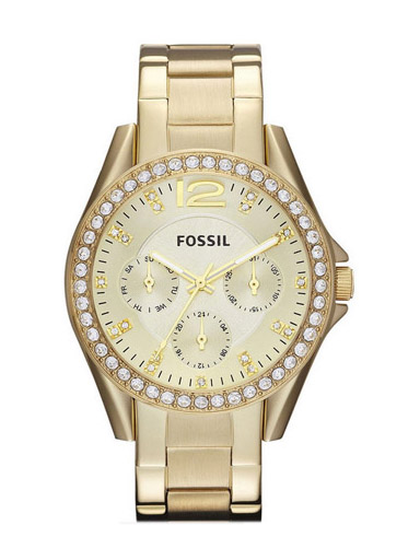 Fossil Women's Multifunction Gold-Tone Watch-ES3203I