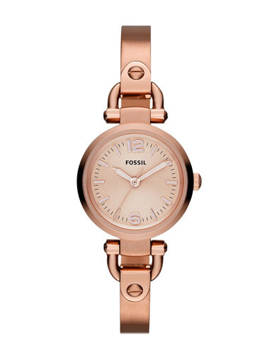 Fossil Women's Analog Display Rose Gold Watch-ES3268I