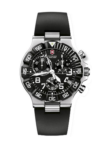 Victorinox Swiss Army Black Summit XLT Mens Watch 241336-241336